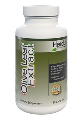 hardy nutritionals olive leaf extract for gut health microflora balance