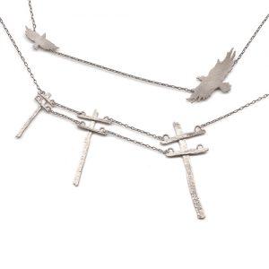 Power Lines & Raven Necklaces
