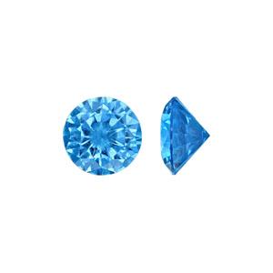 CZ Blue Zircon Stone - Item CZ60BZ