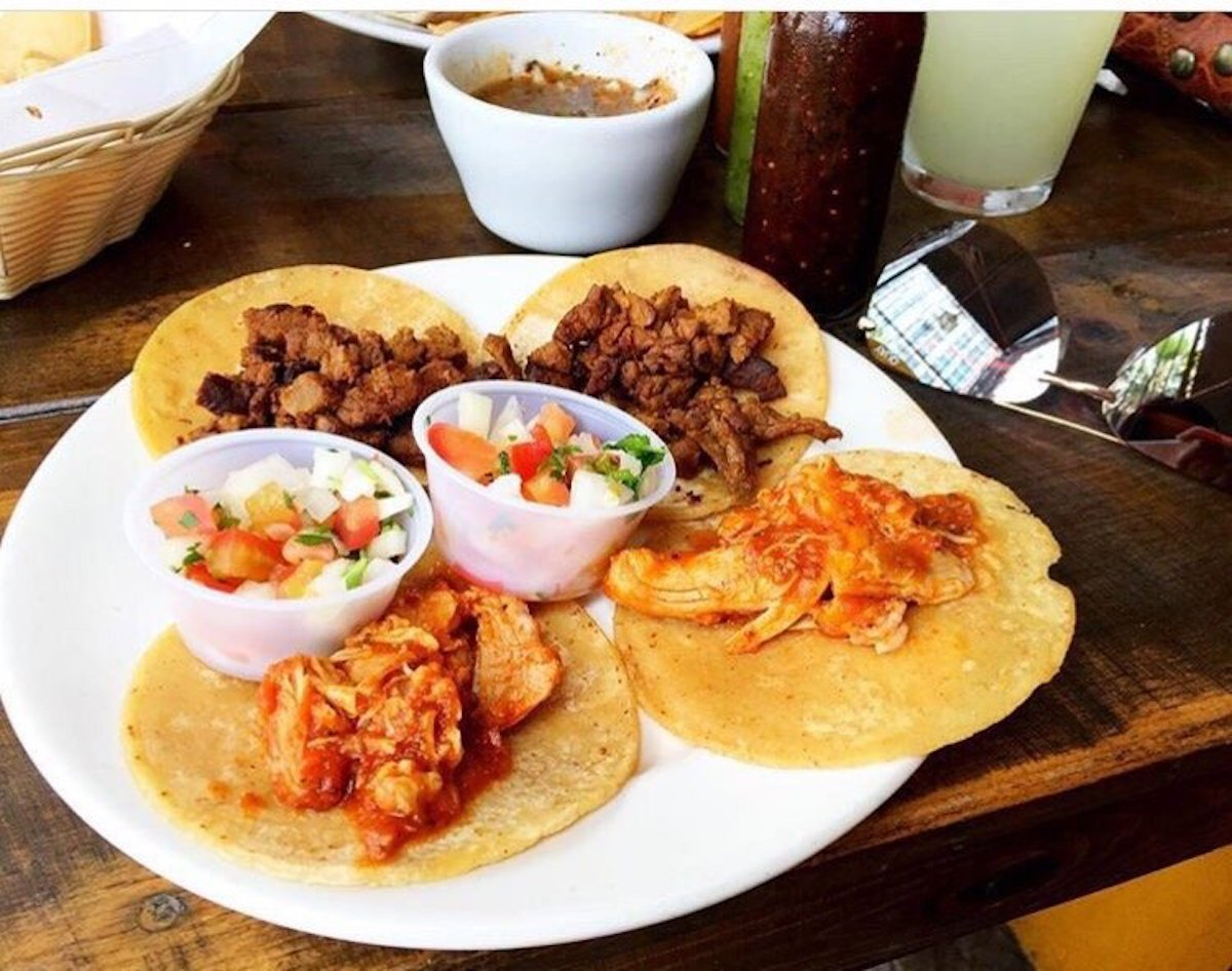 The Mission Cantina Tacos
