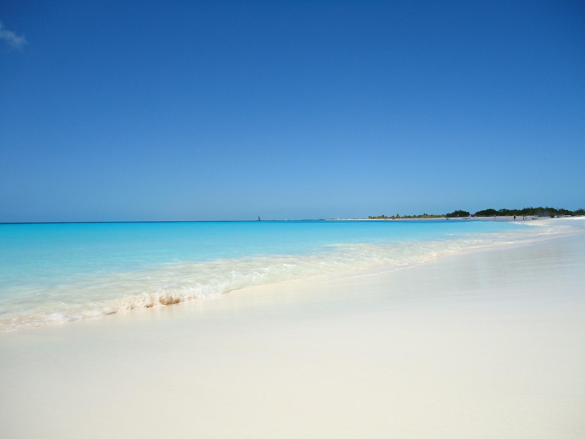 beach in cuba hurricane irma