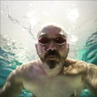 swimming coach David Adams