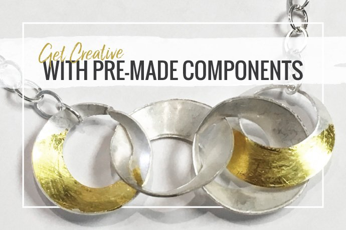 Use pre-made jewelry findings in new and creative ways with these inspiration and tips in this guest blog from Metalwerx Studio!