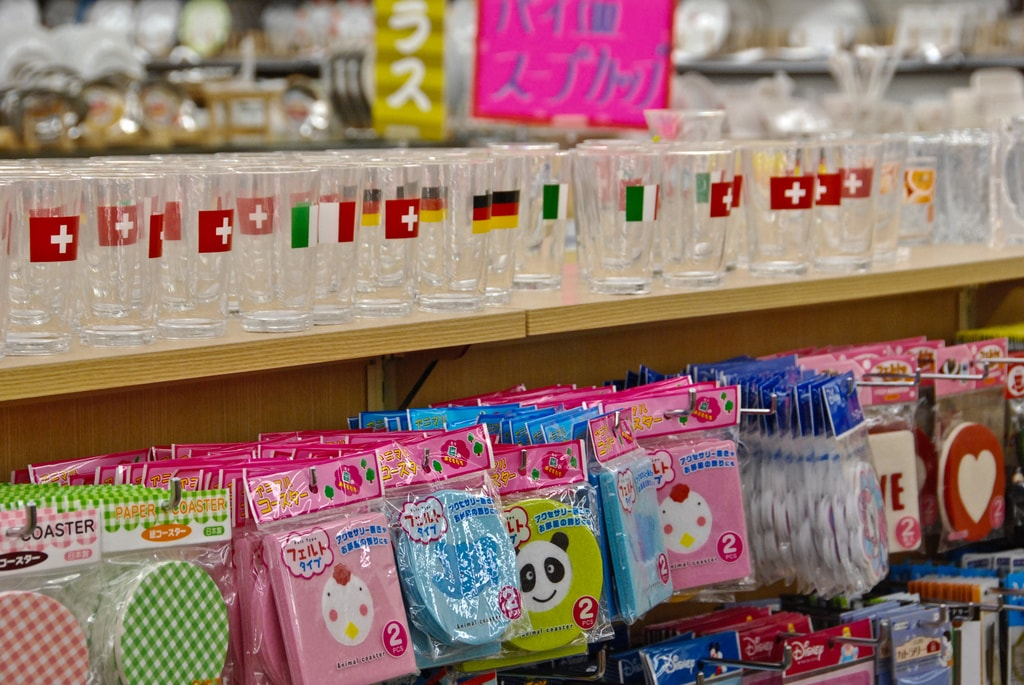 Store with cute things in Tokyo,  one of the best cities to visit in Japan