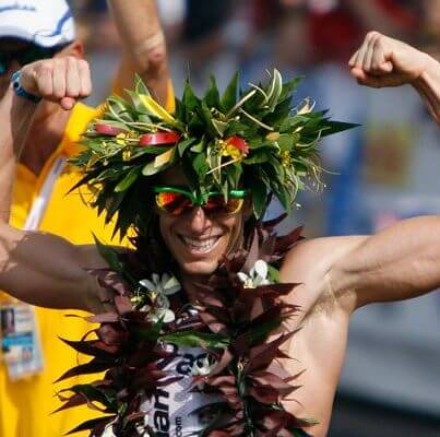 Ironman World Champion and Endless Pools Fastlane owner Pete Jacobs