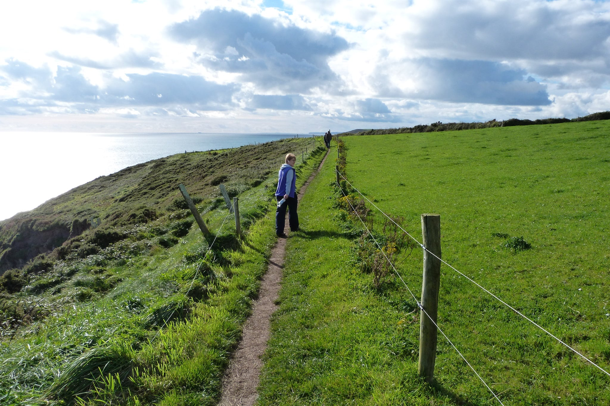 Hiking along Ballycotton Cliff walk is a great thing to do in Cork Ireland