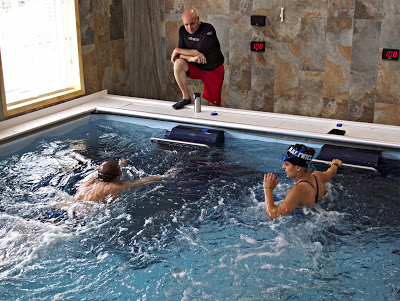 The Dual Propulsion Endless Pool gets daily use at Pike Physical Therapy