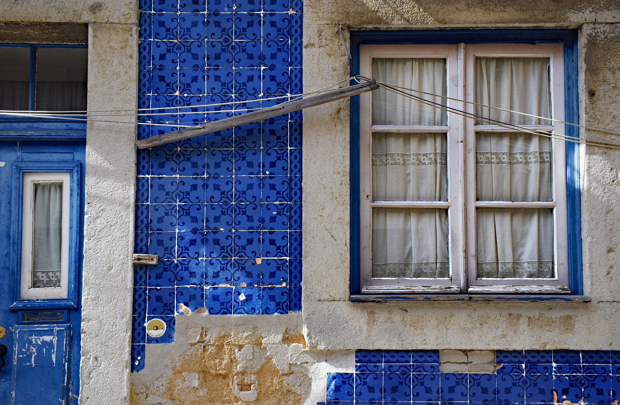 Searching for the country's painted tiles is a beautiful thing to do in Portugal