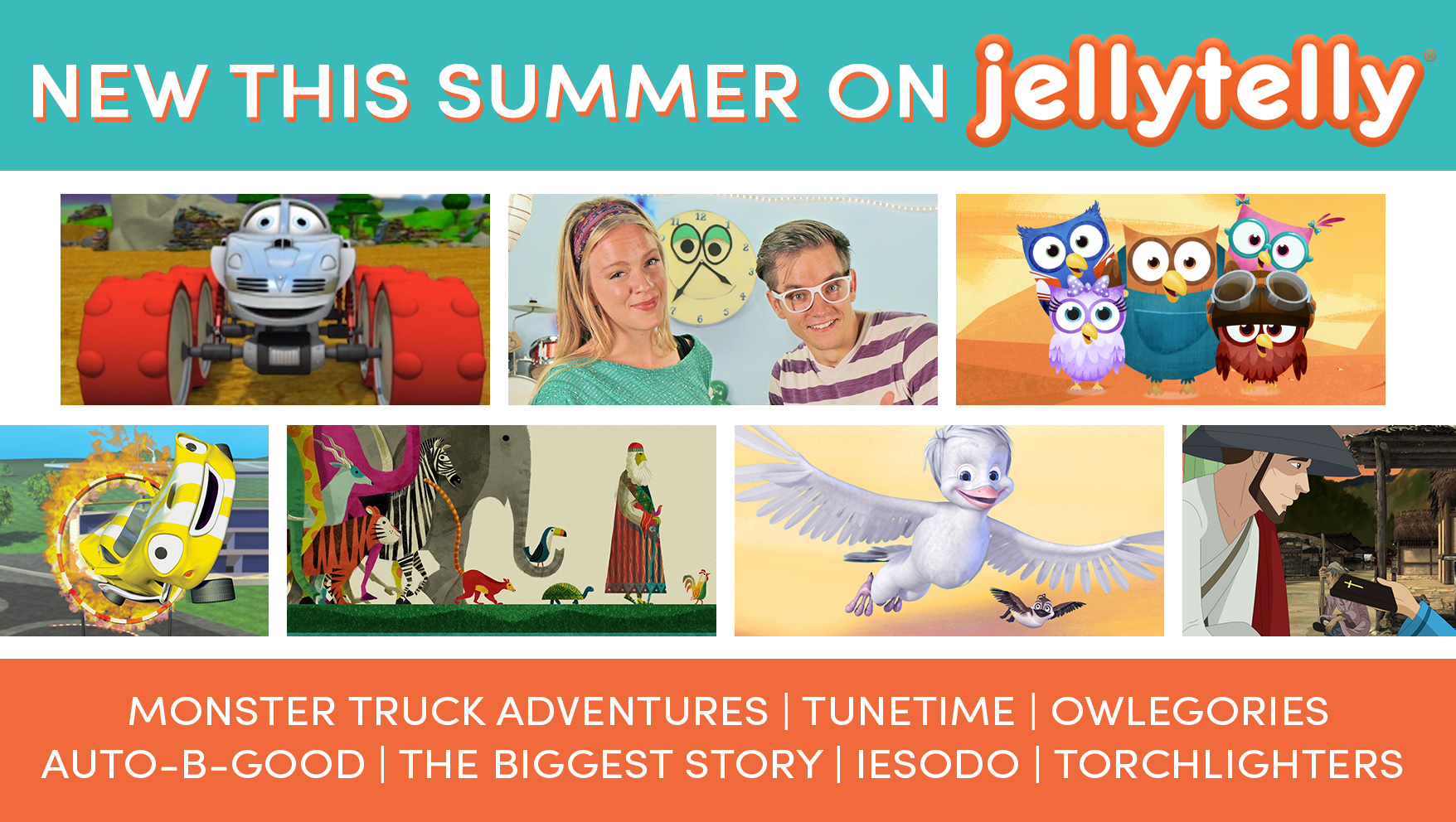 New Shows Coming to JellyTelly This Summer