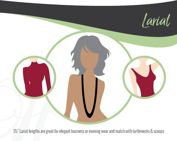 Lariat Necklace Lengths