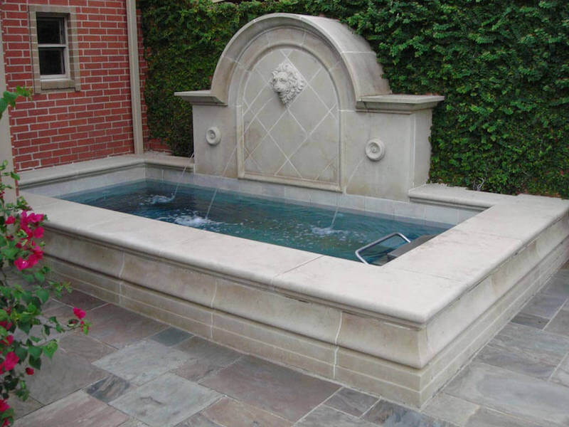 spa and pool, pools with spa, spools