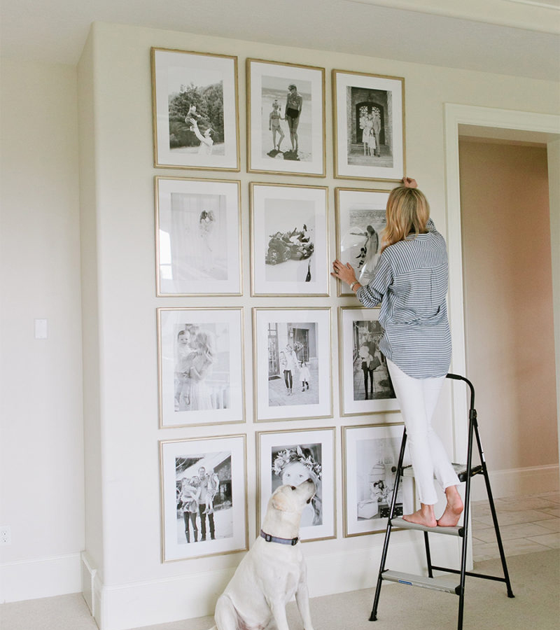 How to Create a Grid Gallery Wall