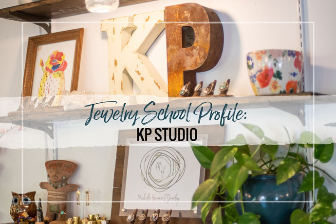 KP Studio located in Phoenix, AZ is a thriving metalsmithing studio school offering classes for beginning to intermediate jewelry artists.