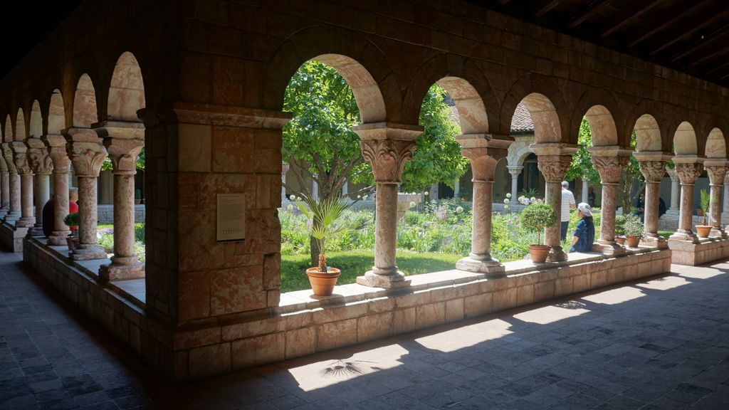 The Cloisters are a great place to visit in New York City for some tranquility