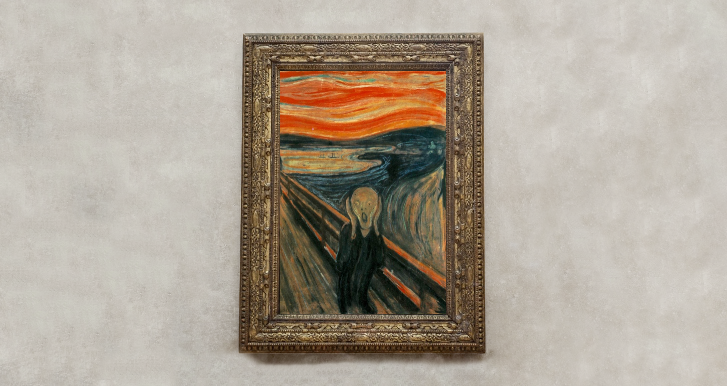 A famous painting in Art history everyone should know: The