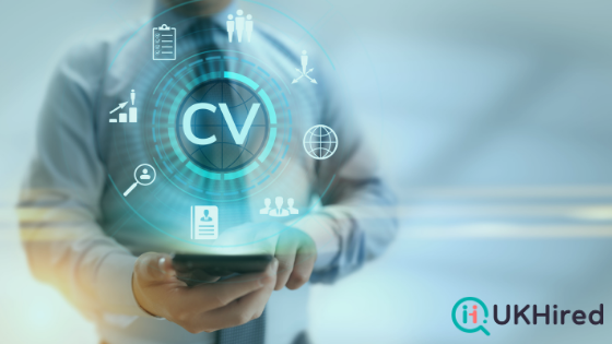 The CV format in the UK