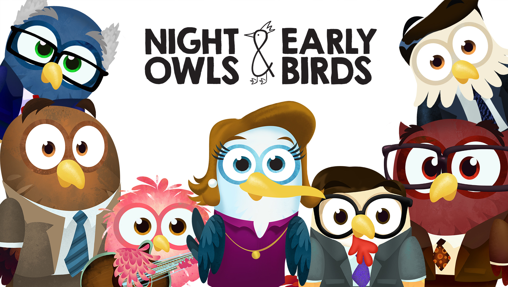 Introducing Night Owls and Early Birds from the Creators of Owlegories