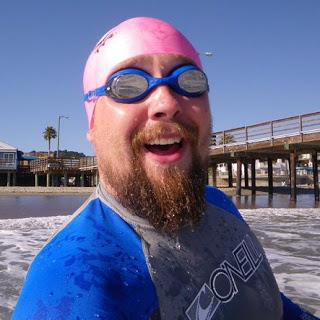open water swimmer Rob D. of the Rob Aquatics blog