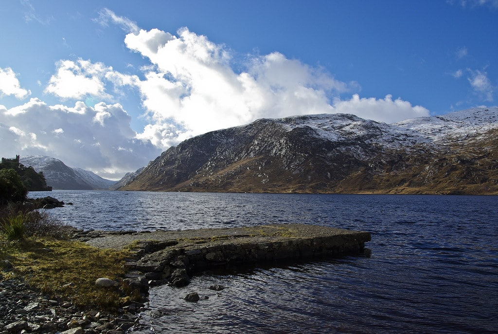 Trekking through Glenveagh National Park is an amazing thing to do in Donegal