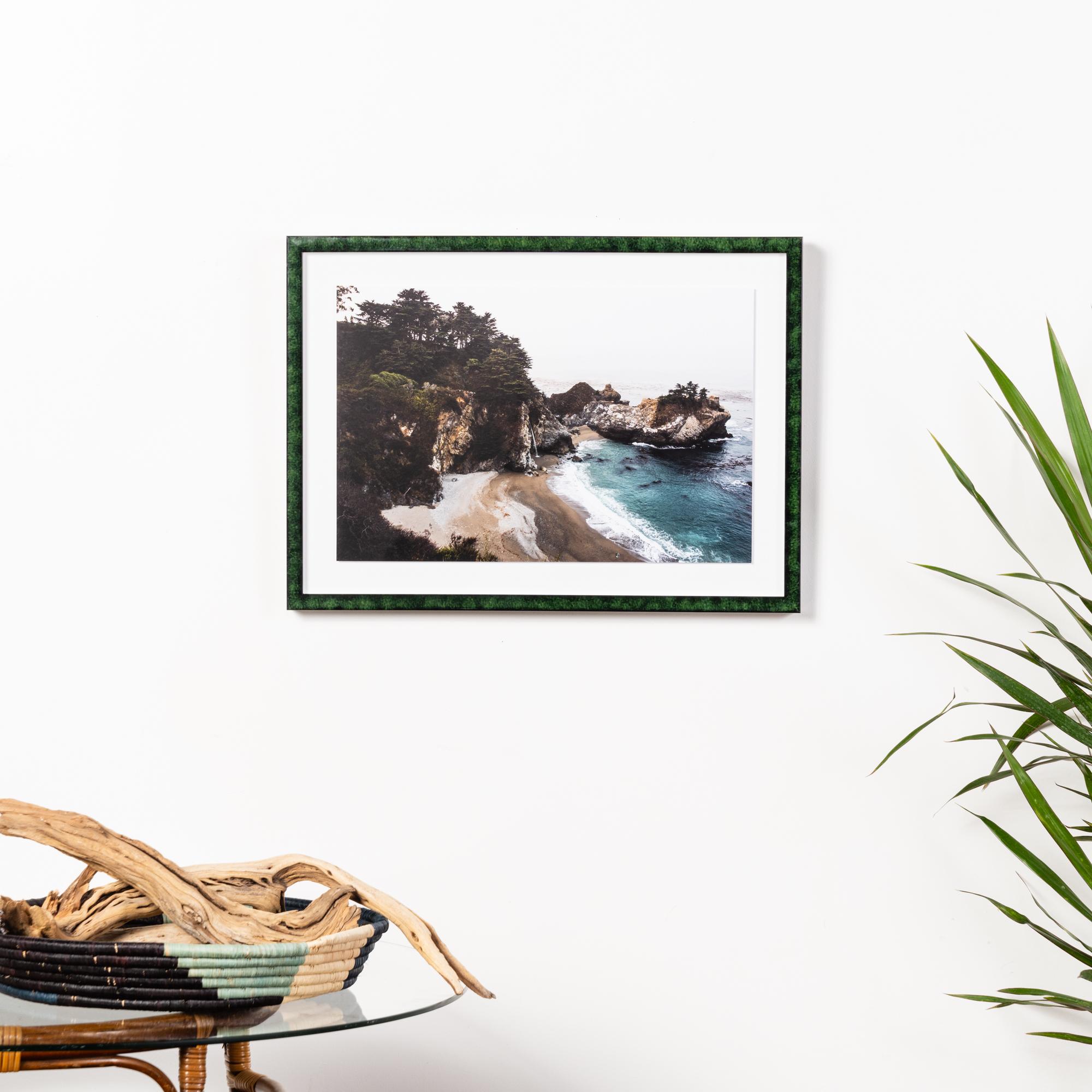 Framebridge Black Artists Print Shop Jahi Walker McWay Falls framed print London frame
