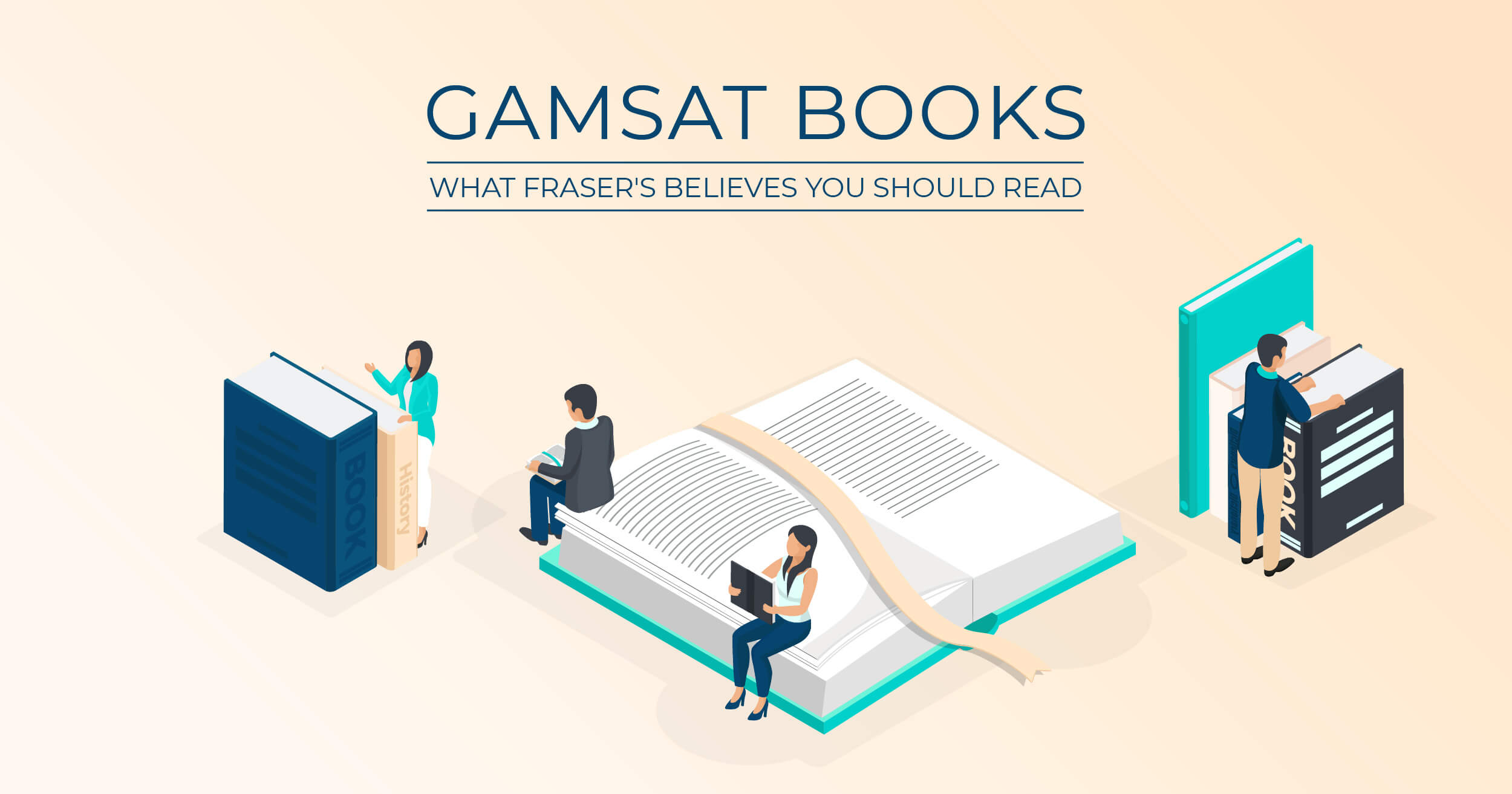 GAMSAT Books: What Fraser's Believes You Should Read featured image