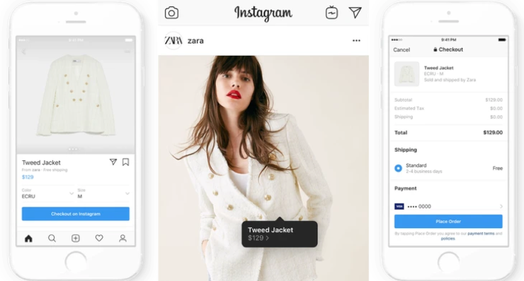 Instagram ecommerce shopping feature
