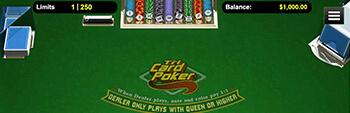 Las Atlantis Casino Tri Card Poker