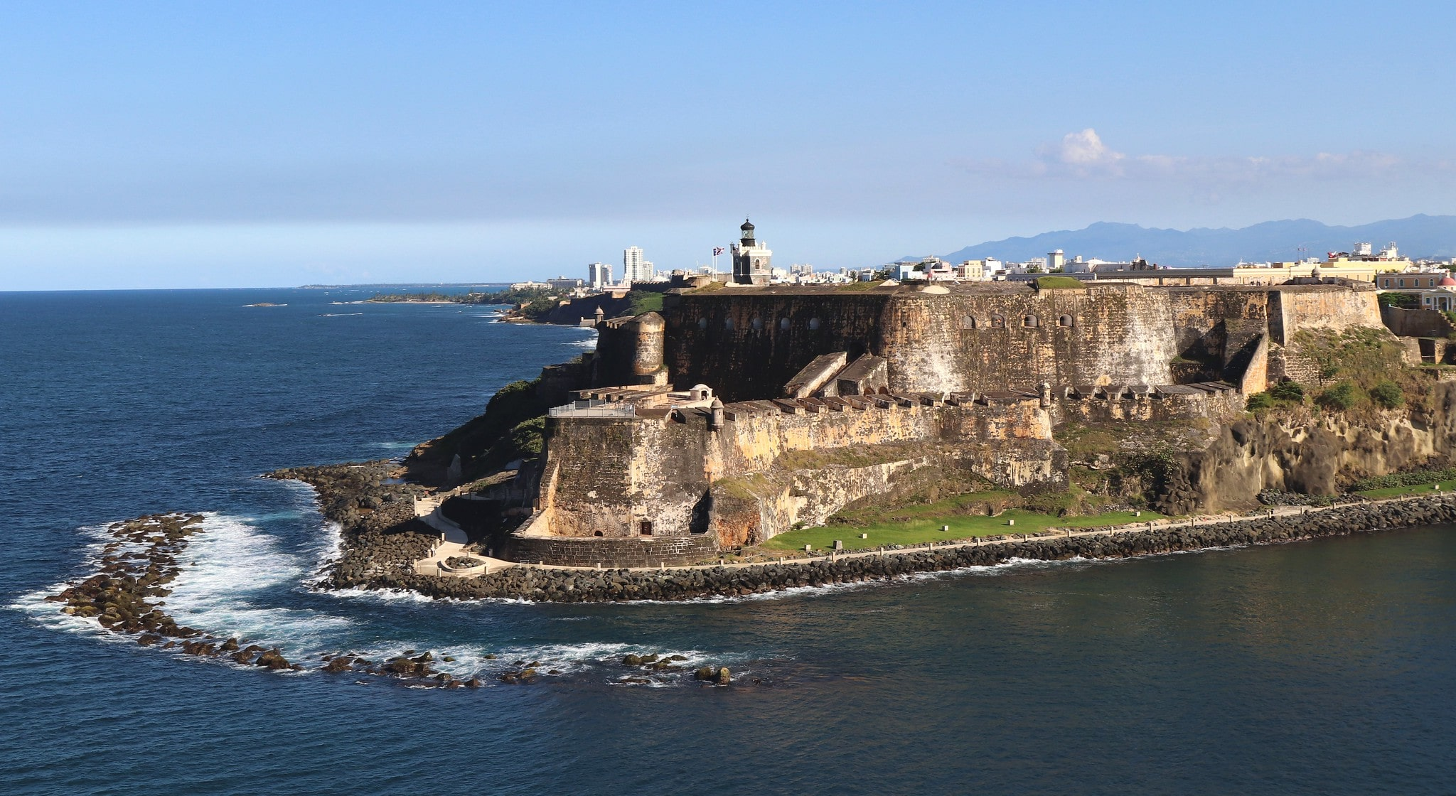 Castillo San Felipe del Morro is one of the top landmarks in Puerto Rico