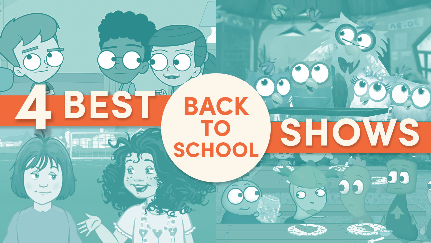 The Best Back-to-School Shows on JellyTelly