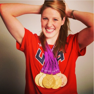 Olympic gold medalist, swimmer Missy Franklin