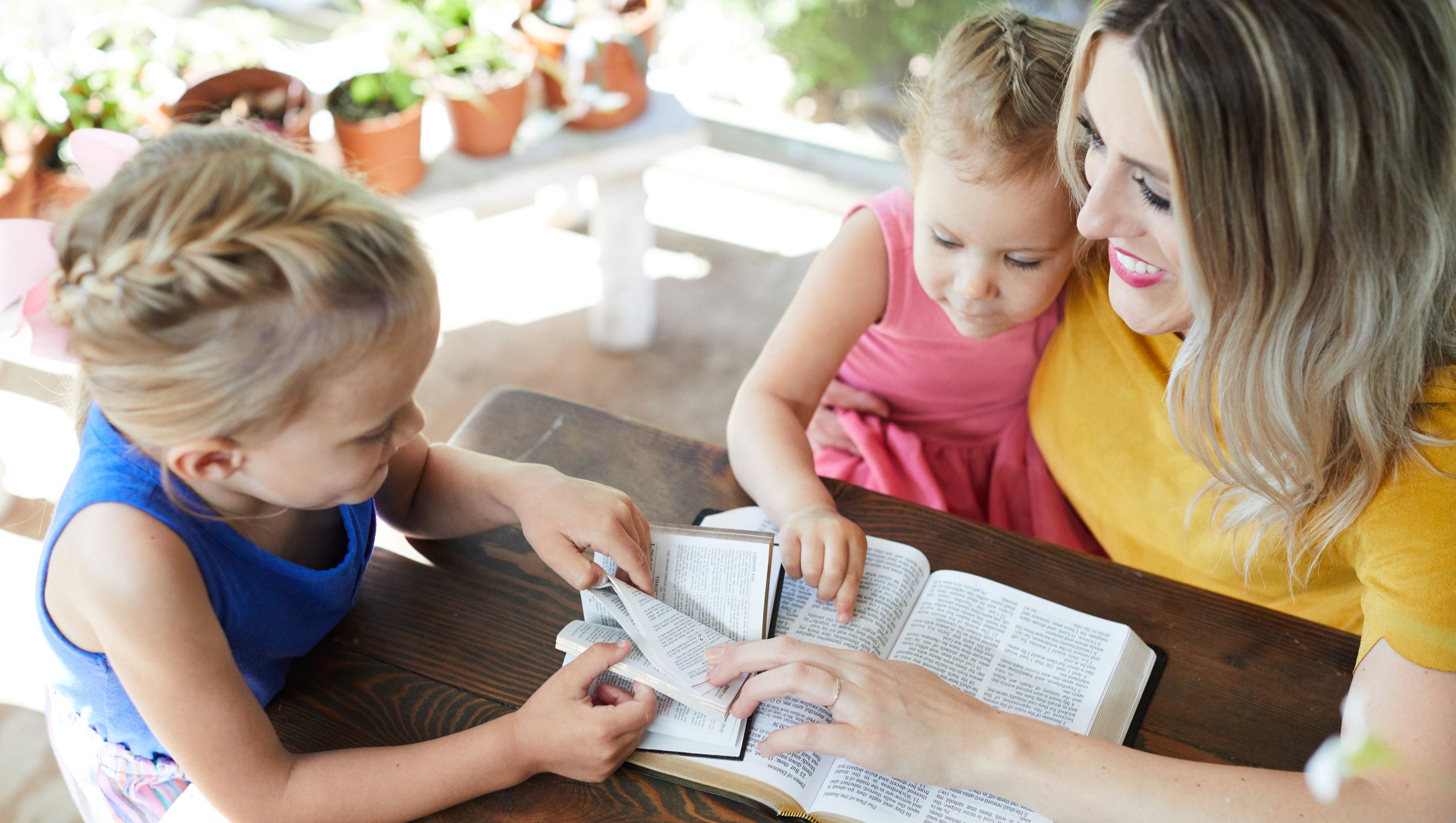 Simple 5-Step Family Bible Study Method