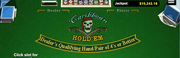 Las Atlantis Casino Caribbean Holdem Poker