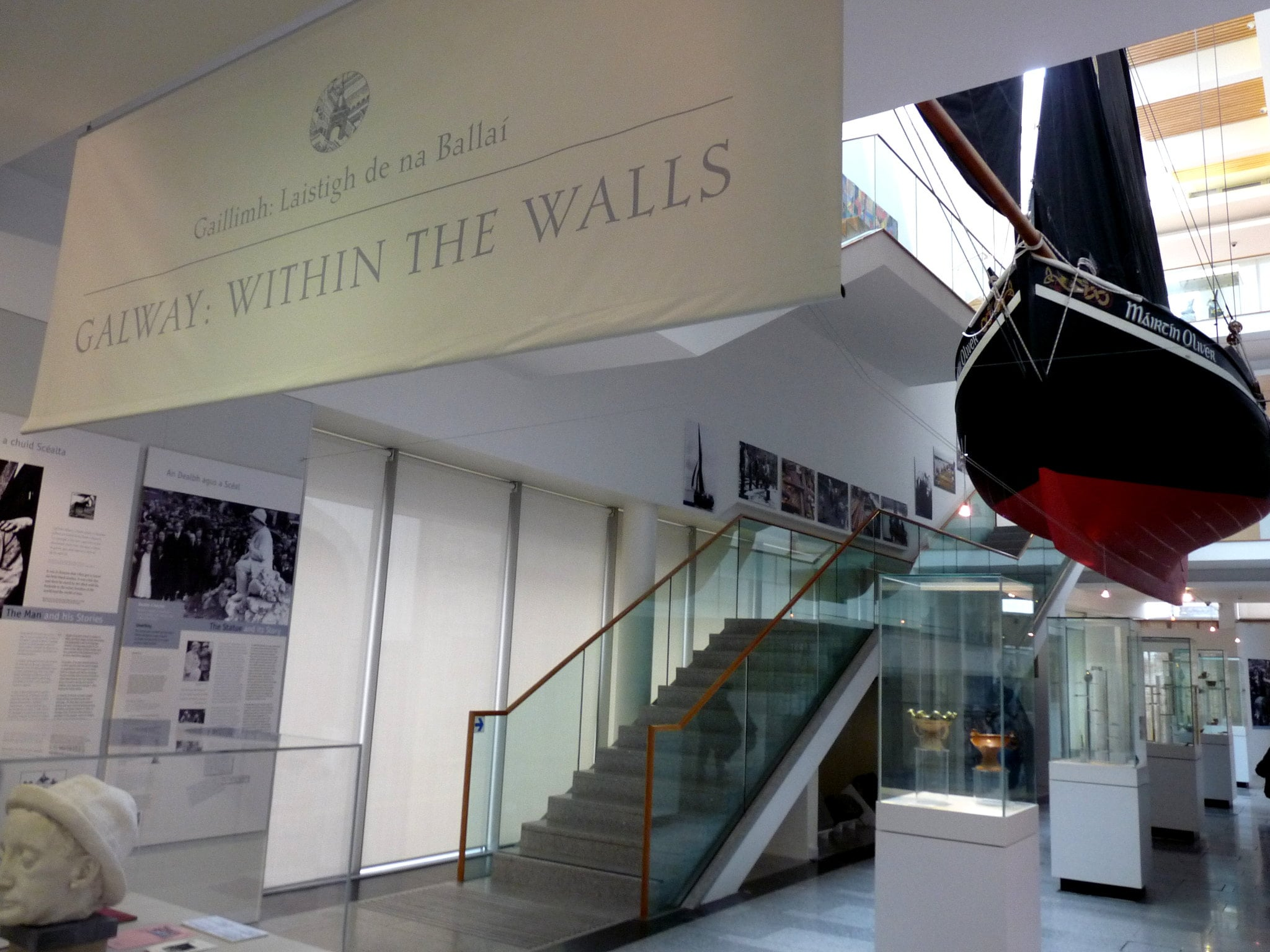 Checking out the Galway City Museum is a cool thing to do in Galway Ireland