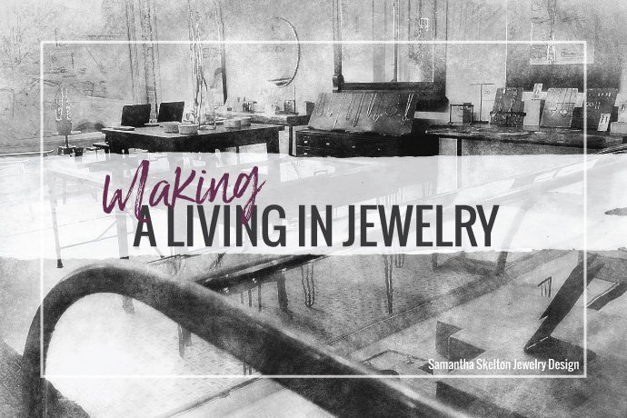 Jewelry metalsmithing is an art. But, to have a career in the jewelry field, you will need to focus on how to sell. Learn a new mindset today.