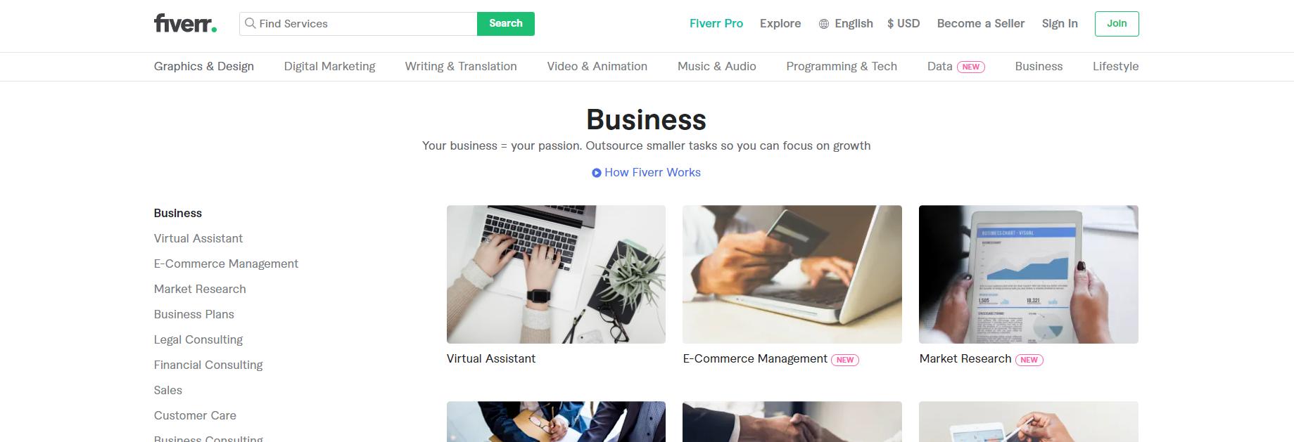 Fiverr Business