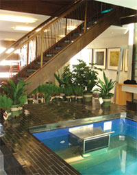 An Original Endless Pool in Sunset Magazine's Idea House in San Francisco