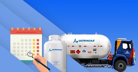 Programação Automática: a Ultragaz cuida do abastecimento de gás para você!