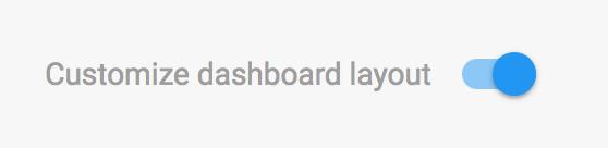 Dashboard Toggle