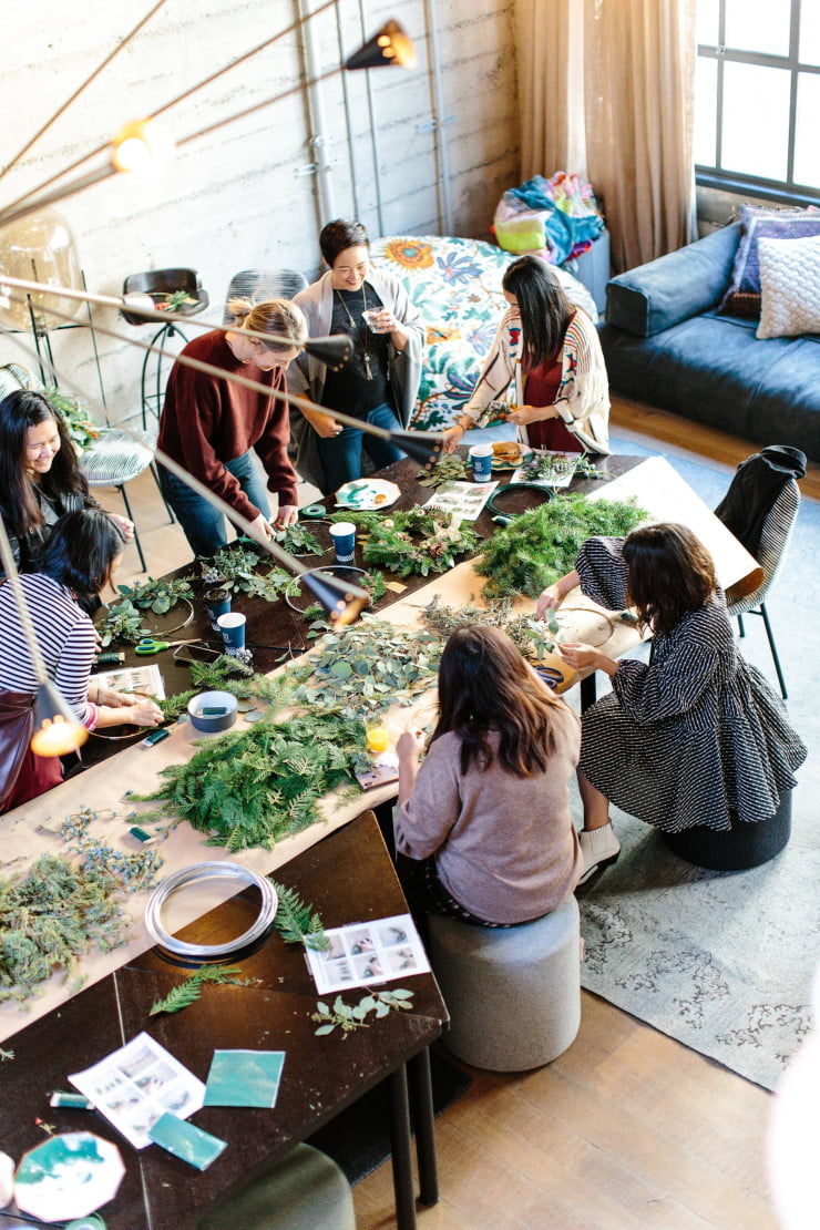 company event ideas for floral arrangements