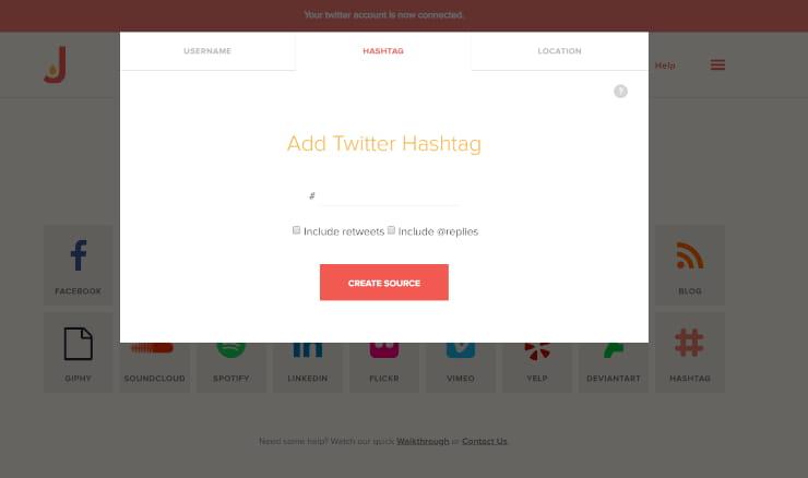 Twitter hashtag aggregator
