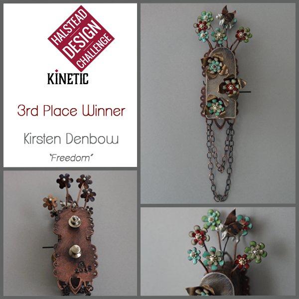 3rd place winner: Kirsten Denbow