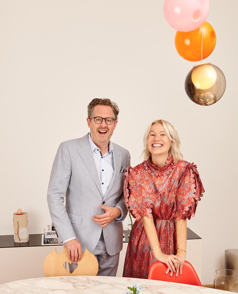 CEO Franz Ihm und Gründerin Nina Gsch...