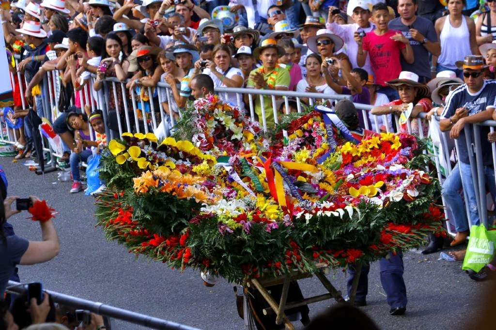 Medellin Flower Festival Colombia