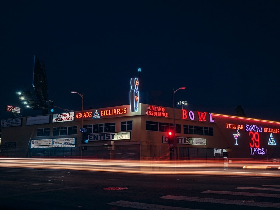Koreatown is a great place to visit in LA because there's so much going on