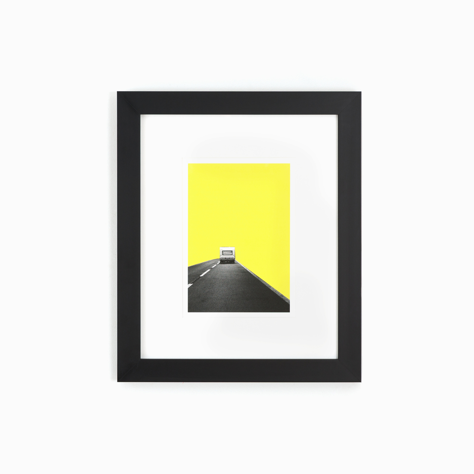 Mercer Product Photo, clean black gallery wall frame