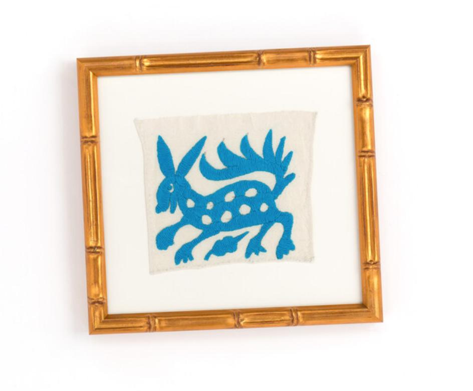 framed texile