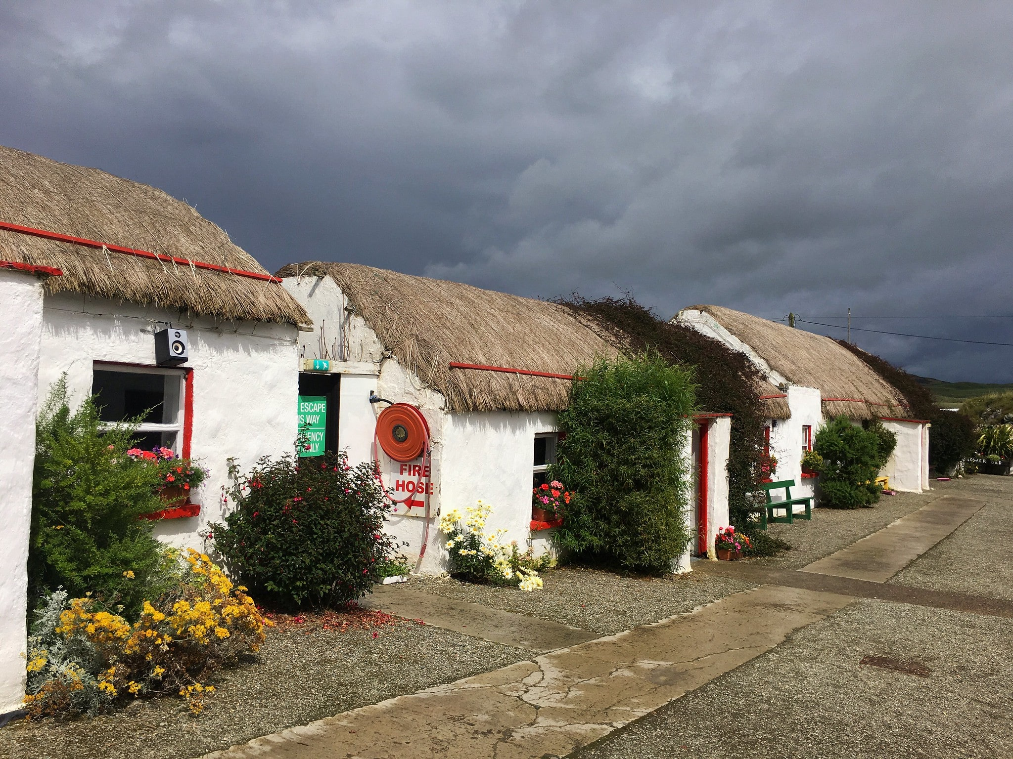 Touring the Doagh Famine Village is a fascinating thing to do in Ireland