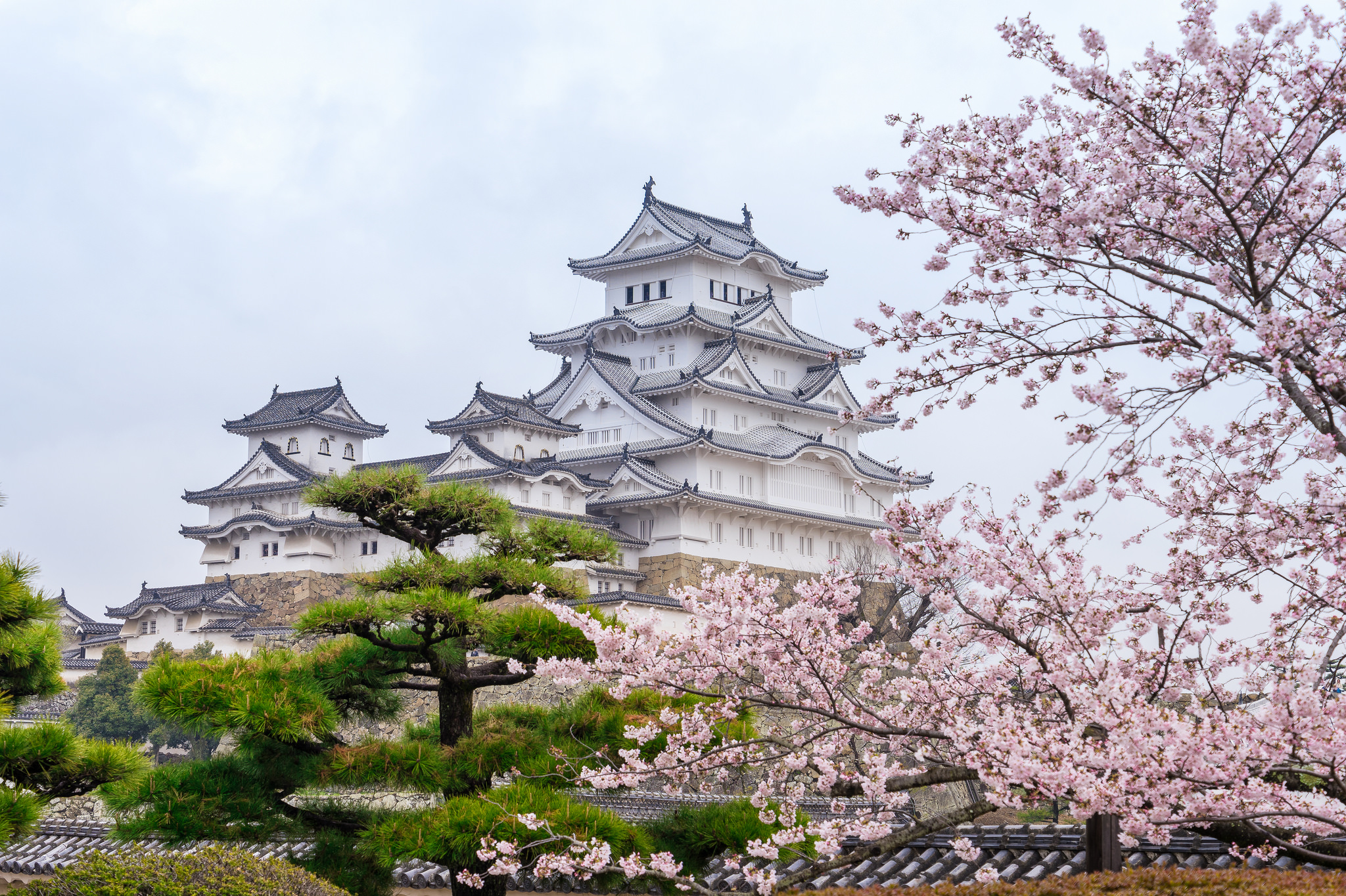 Himeji Castle is one of the places to visit in Japan