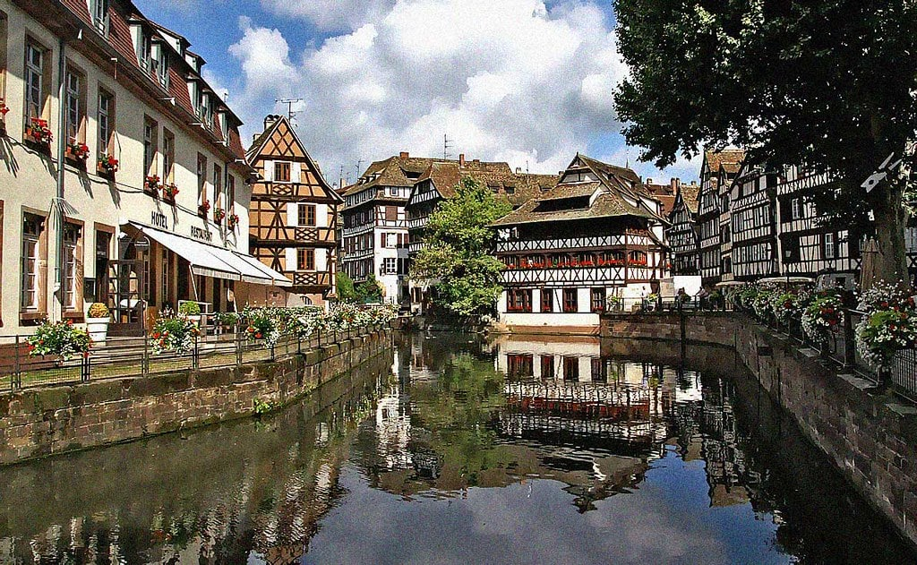 Strasbourg is one of the most beautiful places to visit in France