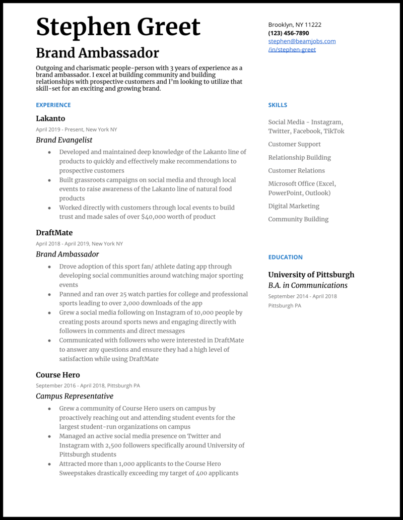 150 Resume Examples For Every Tech Role In 2020